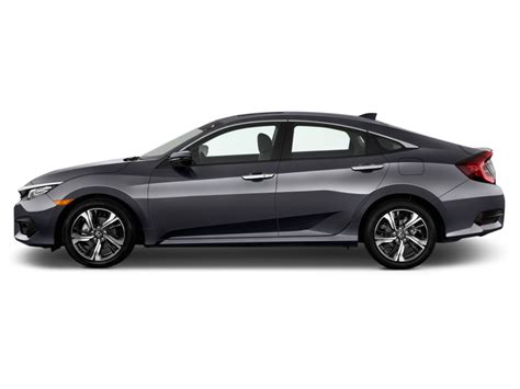 image 2016 honda civic 4 door cvt touring side exterior