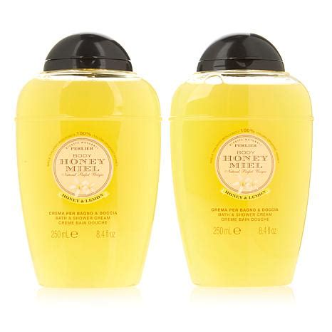 perlier honey bath and shower perlier honey and lemon bath and shower duo 8554696 hsn
