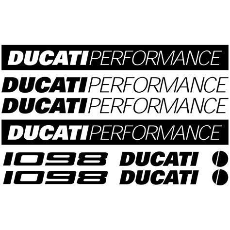 Ducati Wall Sticker by Wallstickers Folies Ducati 1098 Decal Stickers Kit