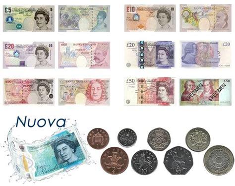 cambio sterlina d italia valute europee