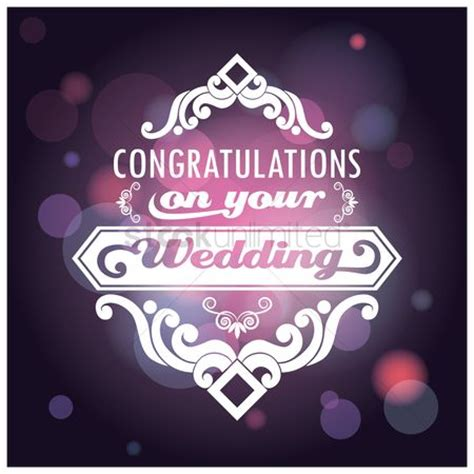 Wedding Congratulations Vector by Free Congratulations Stock Vectors Stockunlimited