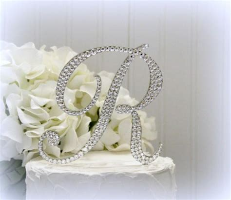 5 Letter Words Y O U T H 5 quot monogram letter wedding cake topper cake topper
