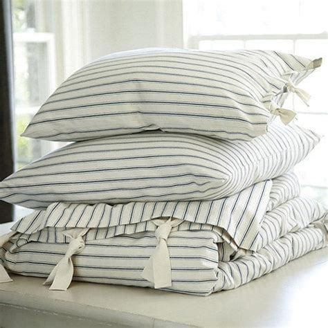 ticking stripe bedding 217 best images about linens on pinterest ticking fabric