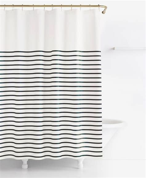 kate spade striped shower curtain 1000 ideas about striped shower curtains on pinterest