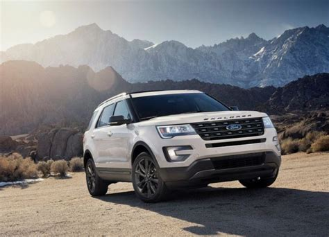 2017 ford explorer review 2017 ford explorer review price pictures release date