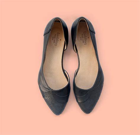 Handmade Shoes Womens - new black flats zoe model shoes handmade shoes