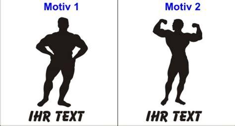 Autoaufkleber Nass Oder Trocken Verkleben by Bodybuilding Aufkleber Autoaufkleber Mit Text