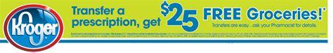Transfer Prescription Gift Card - fun living frugal 25 kroger gift card for transferred prescription thru 8 20