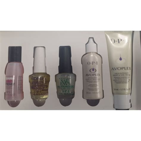 Steps To A Great Home Pedicure by Opi Manicure Pedicure Treatment Set 5 Steps To Great