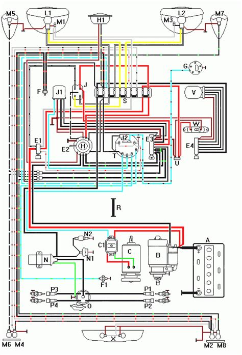 wiring diagrams for a 1973 vw beetle readingrat net