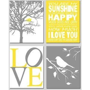 free printable wall art yellow free yellow and grey printables templates on grey and