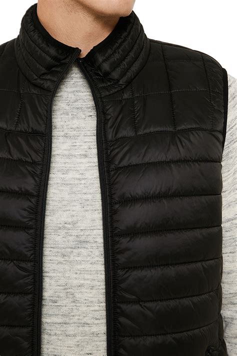 Lea Vest Light Limited threadbare magpie mens vest lightweight quilted padded puffer bodywarmer gilets ebay