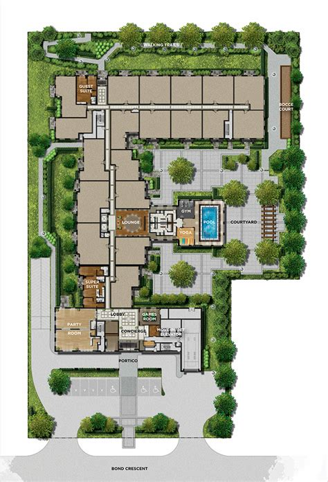 site plan site plan the sorrento