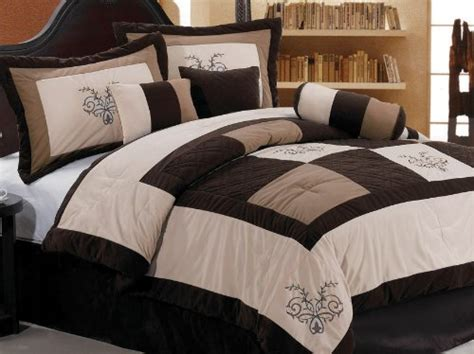 bed in a bag cal king comforters cal king chezmoi collection 7 pieces luxury