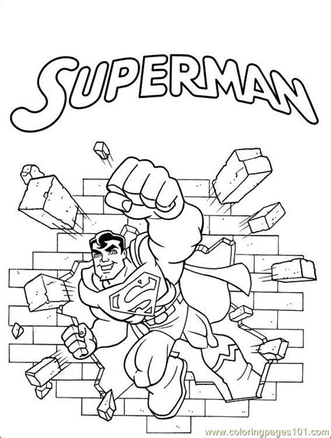 Coloring Pages Dc Comics 001 Cartoons Gt Others Free Dc Comics Coloring Pages