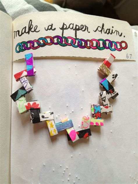 Make A Paper Chain - make a paper chain on