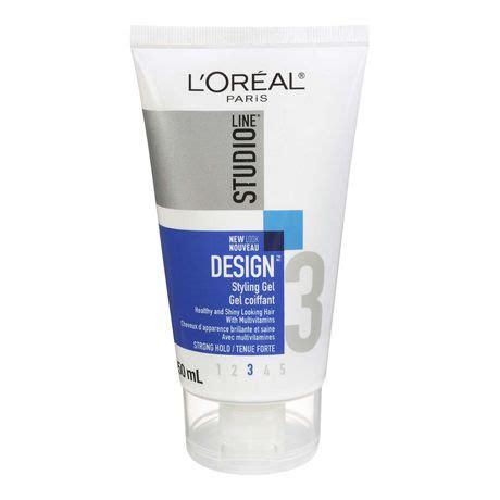l or 201 al paris studio line out of bed hair styling gel l or 233 al paris studio line design strong hold gel walmart