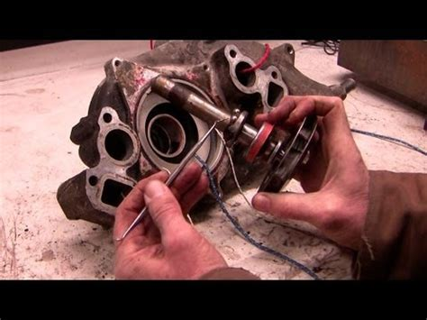 inside a chevy water pump    how it works youtube