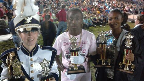 band section leader rhs band captures 5 trophies in carrollton ruskin high