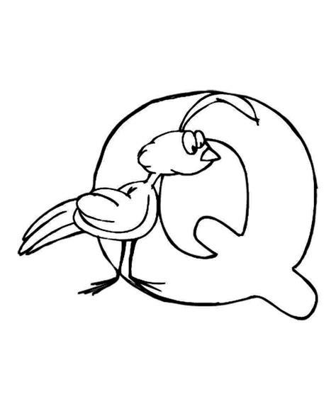 letter q animal alphabet coloring pages letter q coloring pages az coloring pages