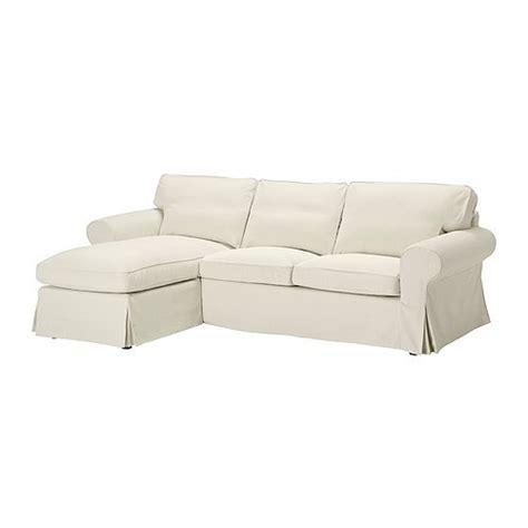 white slipcovered sofa ikea ikea slipcover ektorp chaise blekinge white sofa sectional