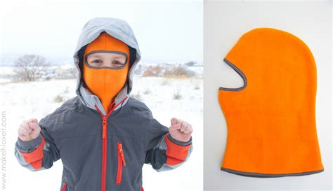 pattern ninja hood make your own balaclava or ski type mask make it and