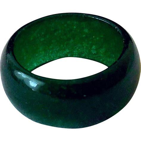 Kalung Fashion Band 0136 vintage jade ring solid band sna treasures ruby