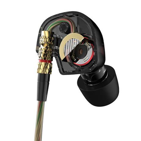Aukey Bass Stereo Earphone Headset With Metal Model Ep T19 5 qkz dm200 earphone hifi metal headset original 100 3 5mm