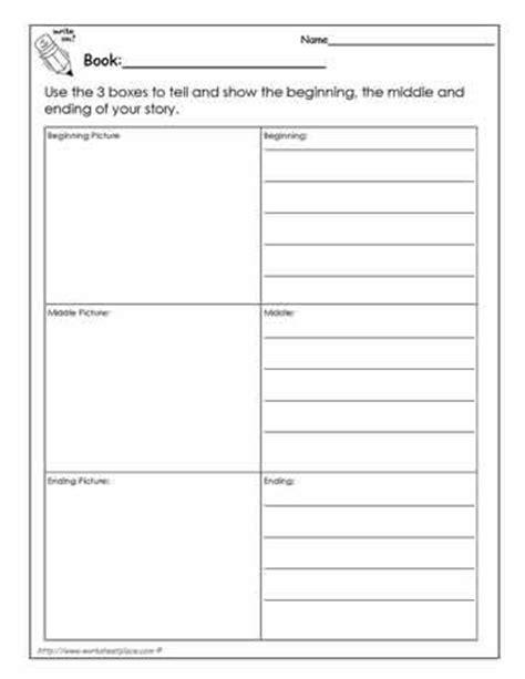 printable graphic organizer beginning middle end beginning middle end worksheet kindergarten kindergarten
