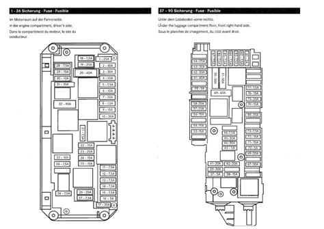 1998 mercedes slk230 fuse diagram 1998 get free image about wiring diagram