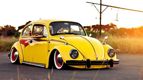 volkswagen bug yellow volkswagen beetle yellow wallpaper