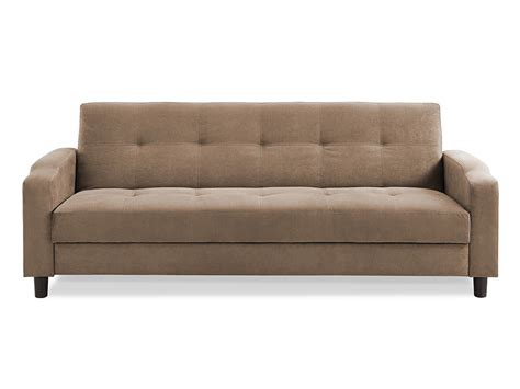 convertible couches reno convertible sofa light brown by serta lifestyle