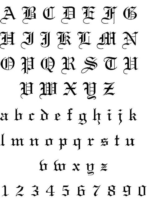 tattoo fonts v calligraphy fonts professional tattooing and