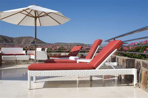terrazzi di lusso terrazzo tropicale di lusso fotografia stock immagine
