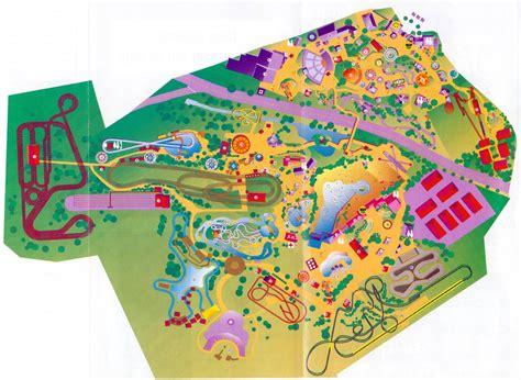 kentucky kingdom map theme park brochures six flags kentucky kingdom theme