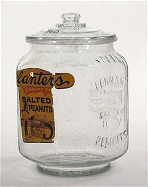 Planters Peanut Jar Value by Jar Planters Peanuts Eight Sided Embossed Mr Peanut 5