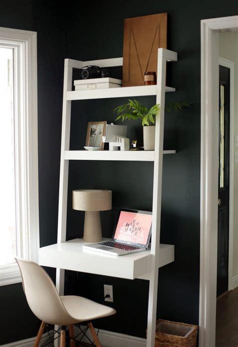 crate and barrel ladder desk image gallery leaning desk