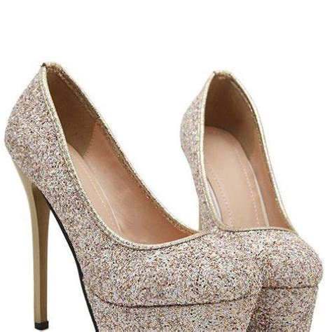 gorgeous high heel shoes gorgeous high heel shoes in gold on luulla