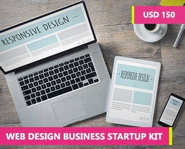 web design business startup kit how to learn