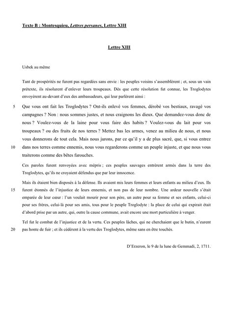 Exemple De Lettre Argumentative Exemple De Corpus A 2 Questions