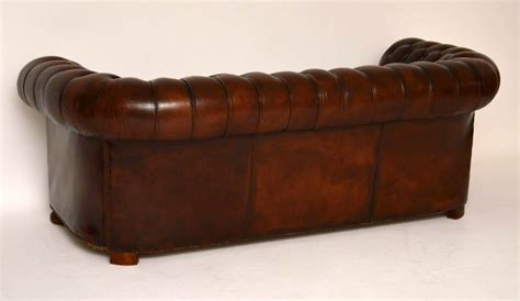 Antique Leather Chesterfield Sofa Antique Buttoned Leather Chesterfield Sofa Marylebone Antiques Sellers Of Antique