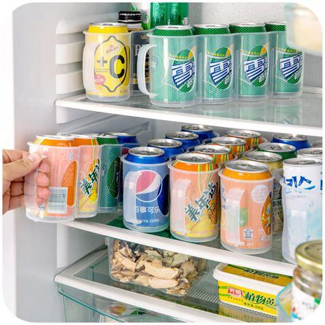 Kitchen Refrigerator Organizer Refrigerator Storage Box Kitchen Accessories Beverage Can