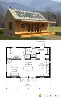 cabin style house plan 1 beds 1 baths 704 sq ft plan