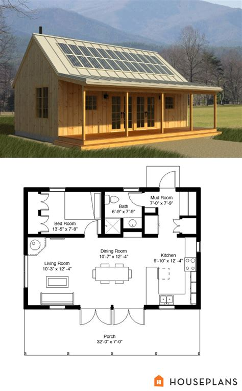 cabin house floor plans cabin style house plan 1 beds 1 baths 704 sq ft plan 497 14 other floor plan