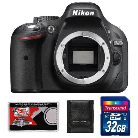 Cek Kamera Nikon D5200 2 m3shop cheap nikon d5200 digital slr black with 32gb card accessory kit