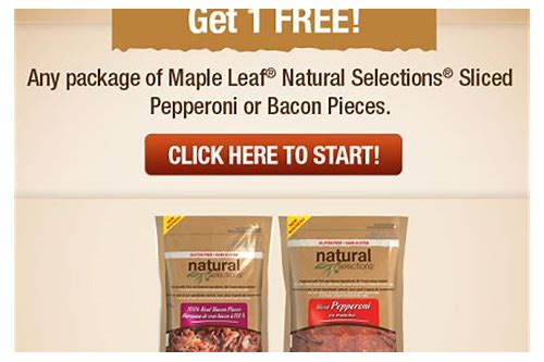 maple leaf coupons