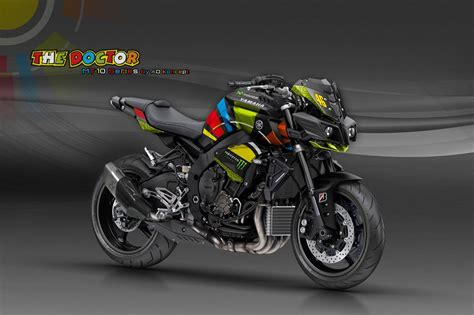 Custom Hp The Doctor 46 yamaha mt 10 in valentino livery and more from ad