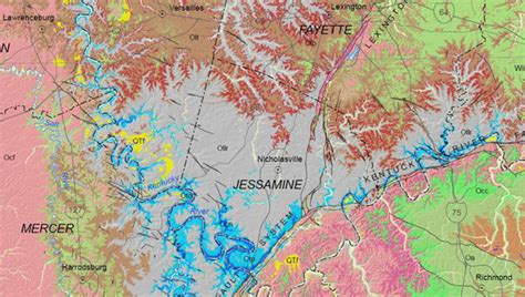 kentucky geologic map new geologic map of kentucky published by the kentucky