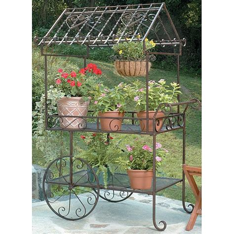 garden flower cart deer park ironworks large flower cart 12367262