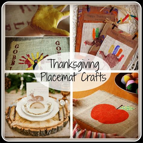 thanksgiving placemat craft for thanksgiving placemat crafts made from